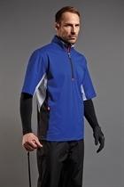 Picture of Sunderland of Scotland Breckenridge Short Sleeve Top - Electric Blue
