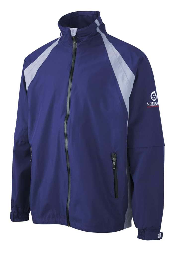 Picture of Sunderland of Scotland zns Resort Convertible Jacket - Ink/Steel