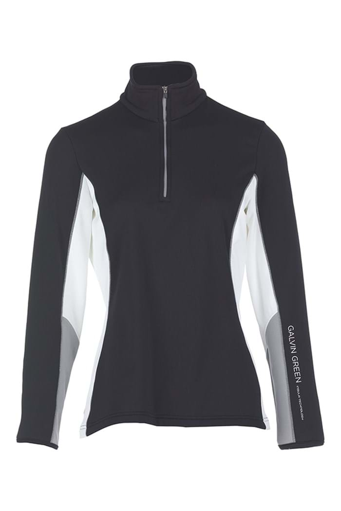 Picture of Galvin Green zns Donna Insula Pullover - Black/Steel/White