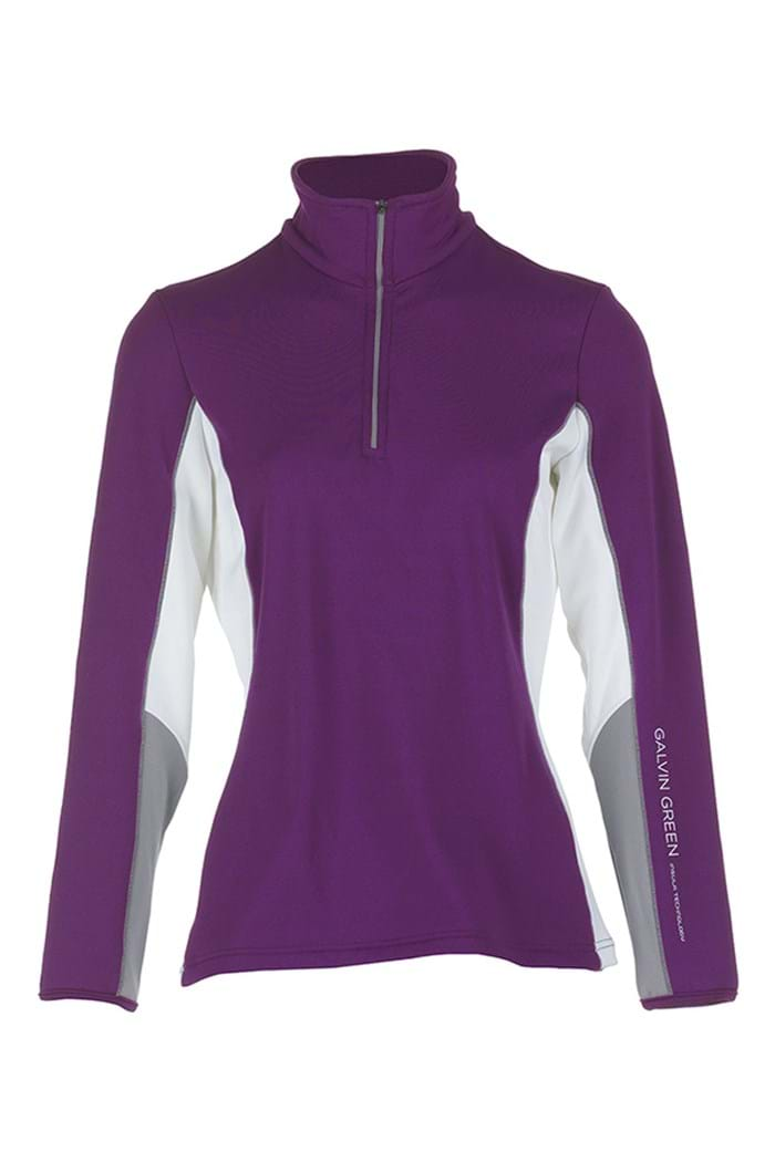 Picture of Galvin Green zns Donna Insula Pullover - Violet/Steel/White