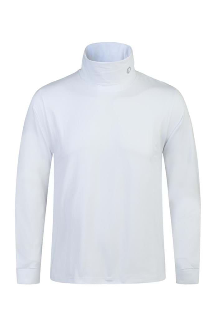 Picture of Oscar Jacobson Birk Classic Rollneck - White