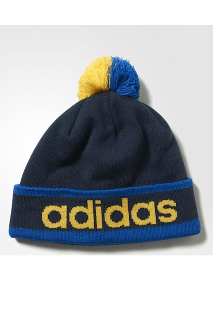 Picture of Adidas ZNS Climaheat PomPom Beanie - Royal/Navy/Yellow