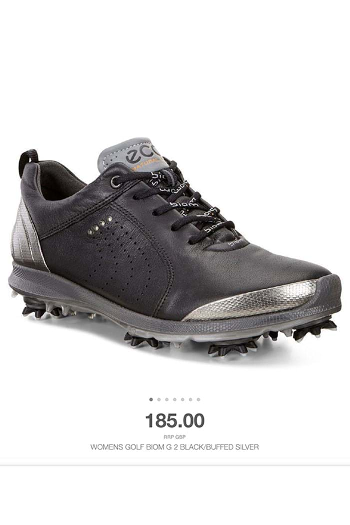 Picture of Ecco  ZNS Ladies Golf Biom G2 Golf Shoes - Black/Steel