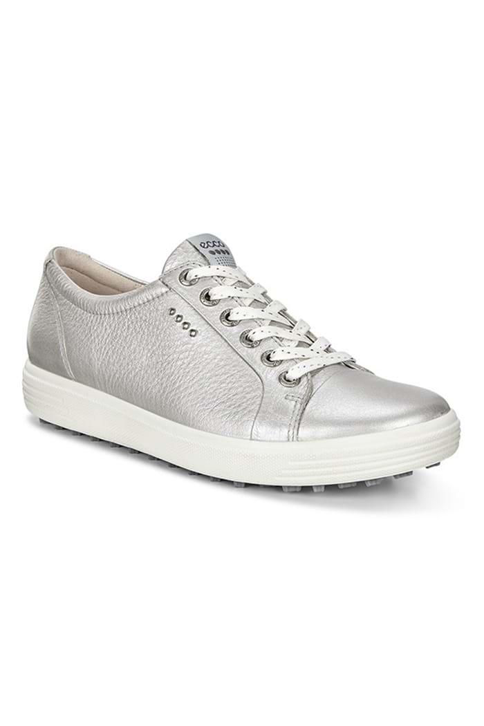 8899b61c8d0 Ecco ZNS Ladies Casual Hybrid Golf Shoes - Silver - Ecco - Eureka Golf