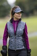 Picture of Daily Sports ZNS Mayra 1/2 Zip Long Sleeved Thermal Top - Ruby