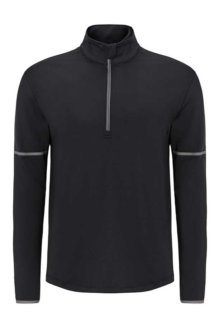 Picture of Callaway zns  Long Sleeve 1/4 Zip Mid Layer Sweater - Cavier
