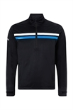 Picture of Callaway Men's 1/4 Zip Thermal Wind Jacket - Caviar