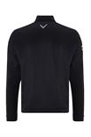 Picture of Callaway Men's 1/4 Zip Thermal Wind Jacket - Caviar