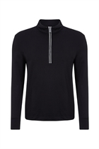 Picture of Callaway Men's 1/4 Zip Waffle Fleece Sweater - Caviar