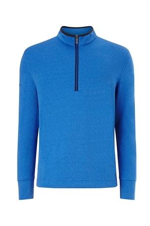 Picture of Callaway Men's 1/4 Zip Waffle Fleece Sweater - Magnetic Blue