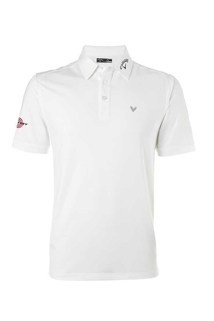 Picture of Callaway Men's Tour Opti Vent Polo Shirt - Bright White