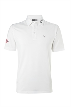 Picture of Callaway Men's Tour Opti Vent Polo Shirt - Bright White