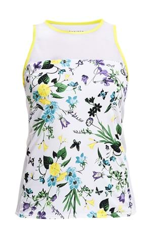 Picture of Rohnisch Hannah Run Singlet - Multi Butterfly