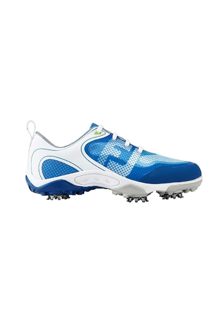 Picture of FootJoy ZNS Junior FreeStyle Shoes - White/Blue