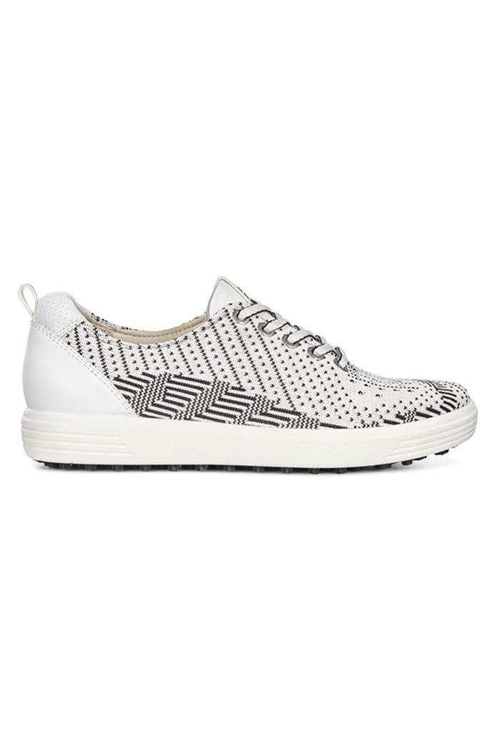 4bdfec382f Ecco ZNS Ladies Casual Hybrid Golf Shoe - White/Black Texture