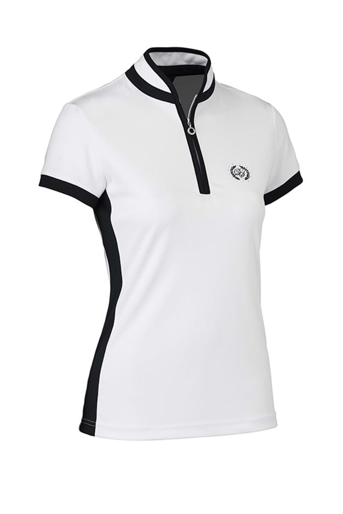 Picture of Daily Sports NOPIC Marge Cap Sleeve Polo Shirt - White