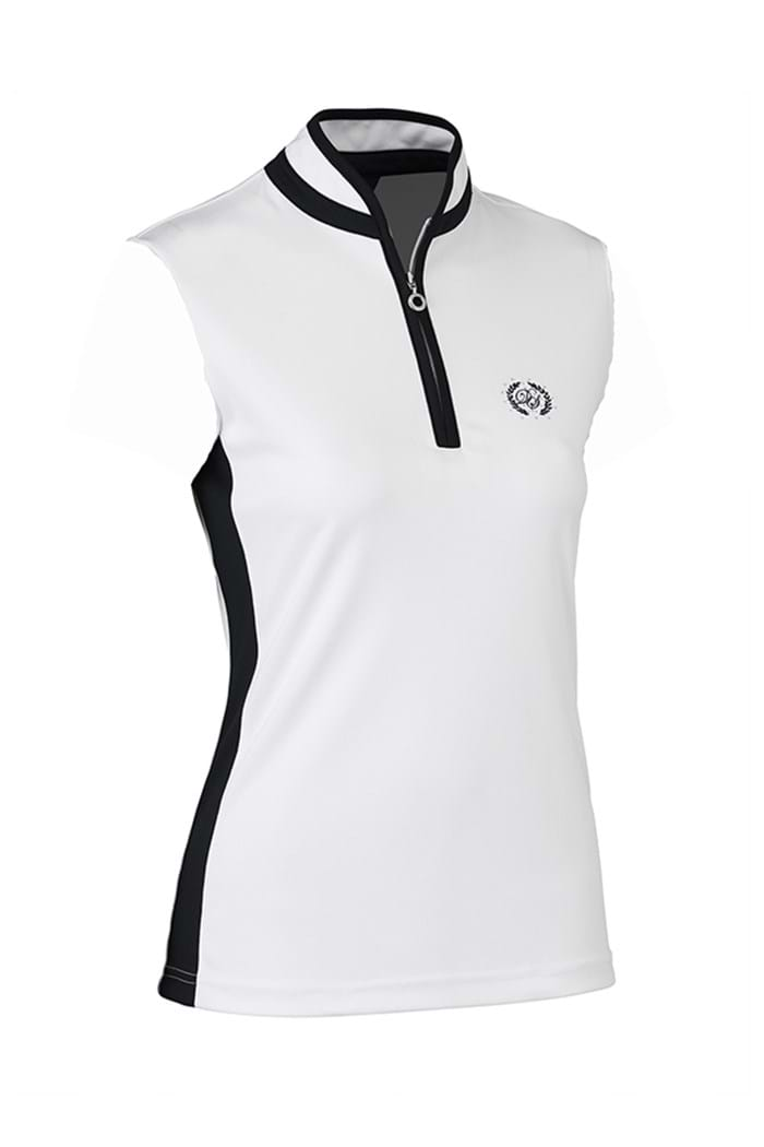 Picture of Daily Sports NOPIC Marge Sleeveless Polo Shirt - White