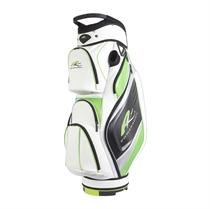 Picture of Powakaddy 2017 Premium Golf Cart Bag - White/Lime