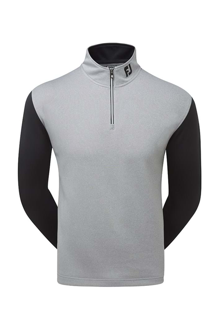 Picture of Footjoy ZNS Double Layer Contrast Chillout - Heather Grey/Black