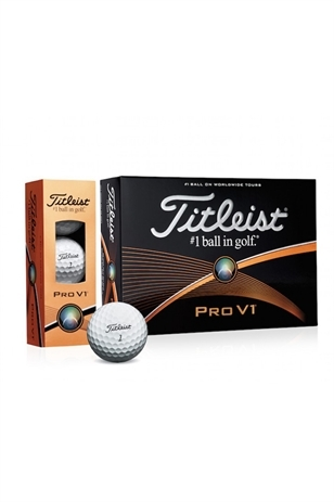 Picture of Titleist Pro V1 Golf Balls 2016
