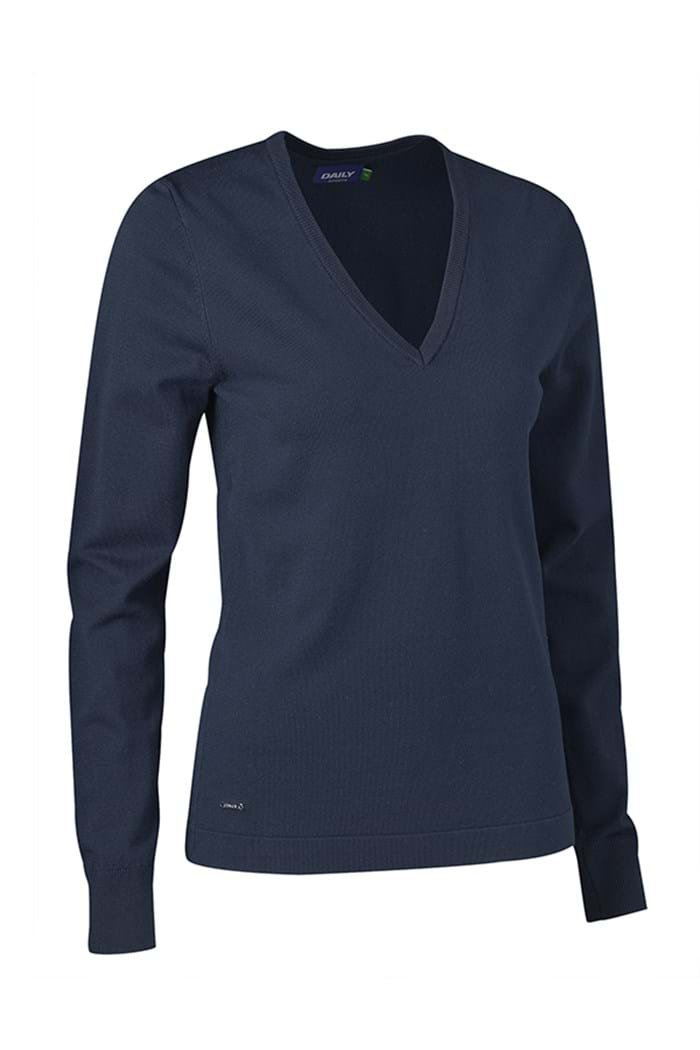 Picture of Daily Sports zns  Zoie V-Neck Pullover - Navy