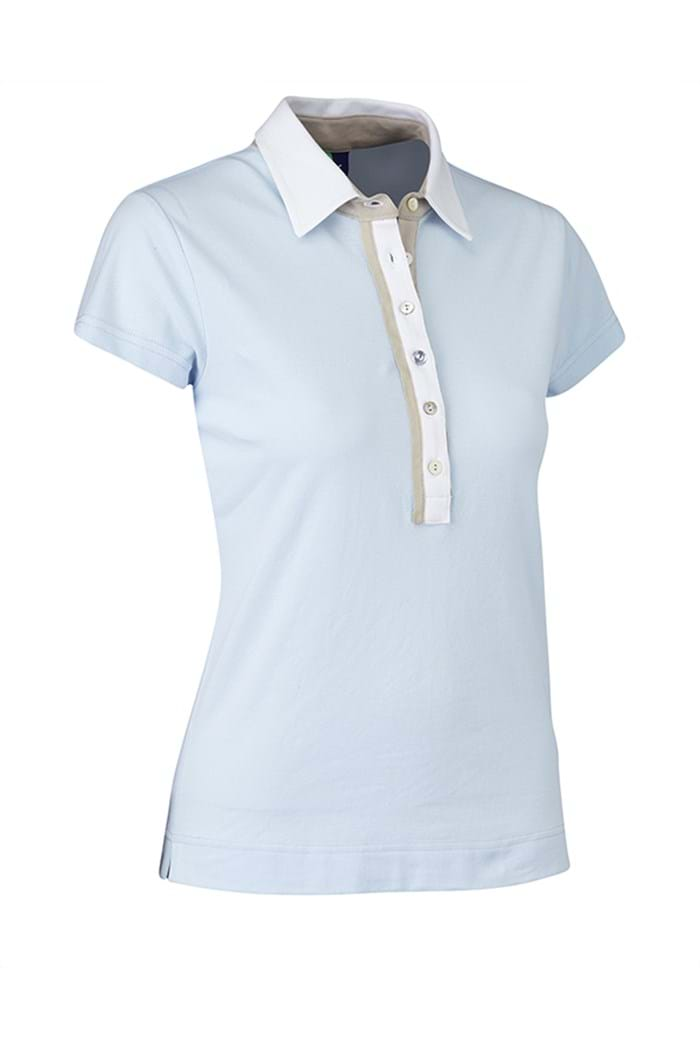 Picture of Daily Sports NOPIC Shea Cap Sleeved Polo Shirt - Light Blue
