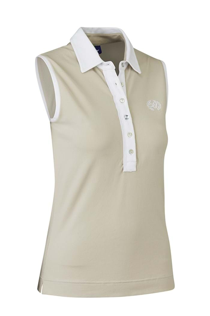 Picture of Daily Sports ZNS NOPIC Shea Sleeveless Polo Shirt - Sahara