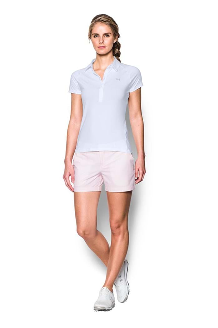Picture of Under Armour CHECK Zinger Ultimate UPF Polo Shirt - White