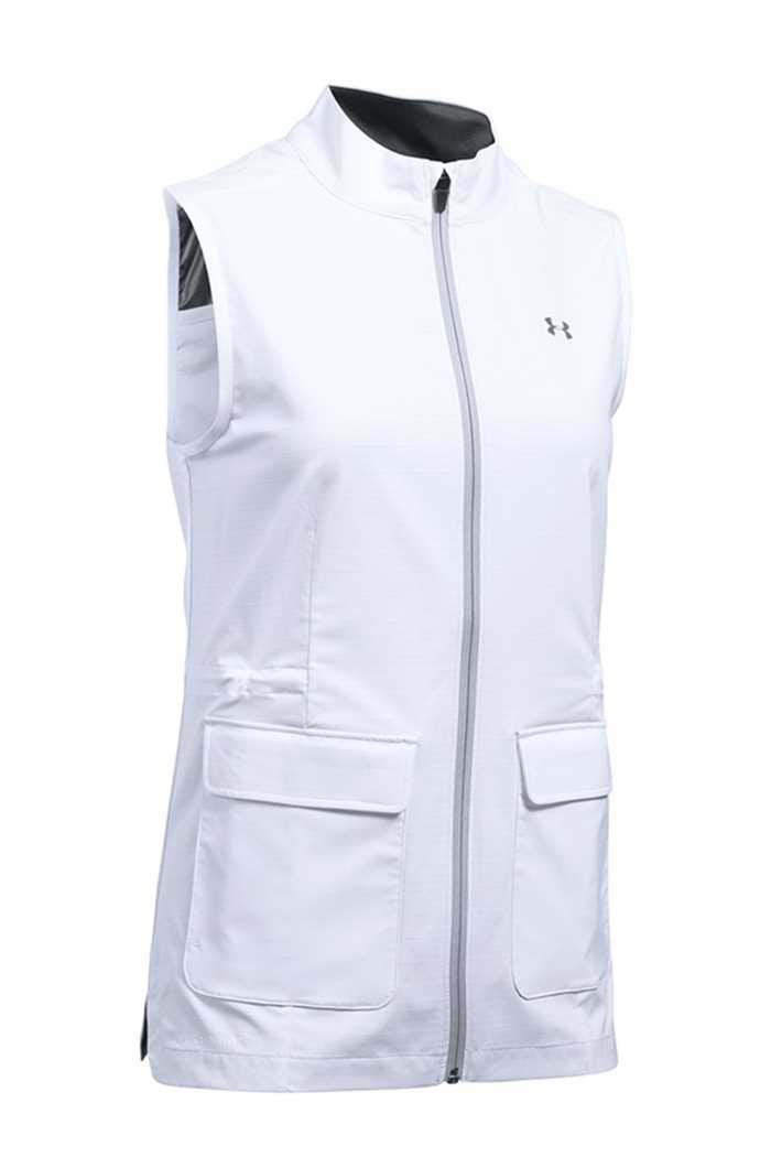 Picture of Under Armour Storm Windstrike FZ Vest/Gilet - White