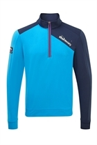 Picture of Bunker Mentality Enduro 1/4 Zip Top - Blue