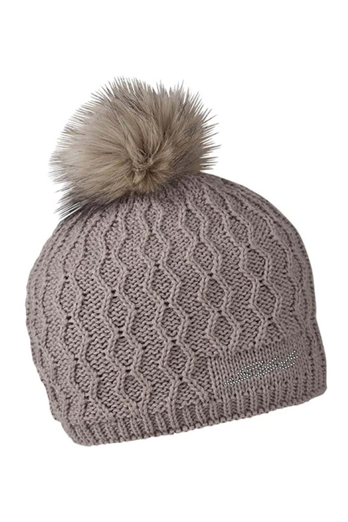 Picture of Sabbot ZNS Dana Cable Bobble Hat - Coffee