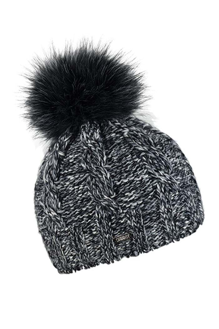 Picture of Sabbot Elsa Pompom Hat - Black Multi