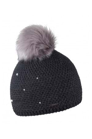Picture of Sabbot Sigrid Pom Pom Beanie - Charcoal