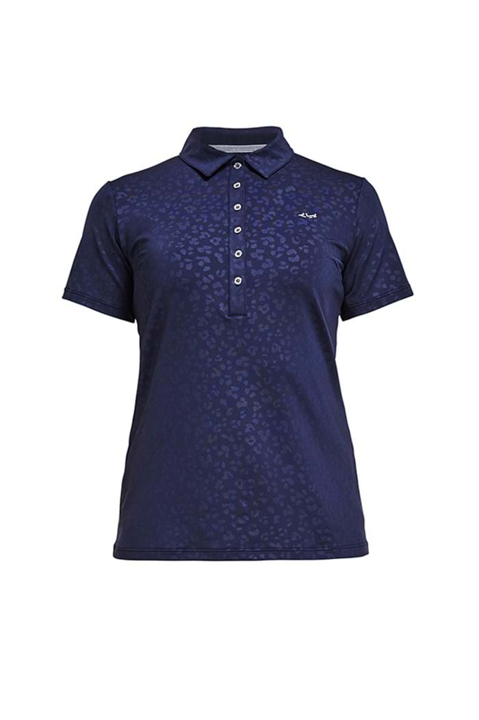 Picture of Rohnisch ZNS Ally Polo Shirt - Clover Emboss Stream