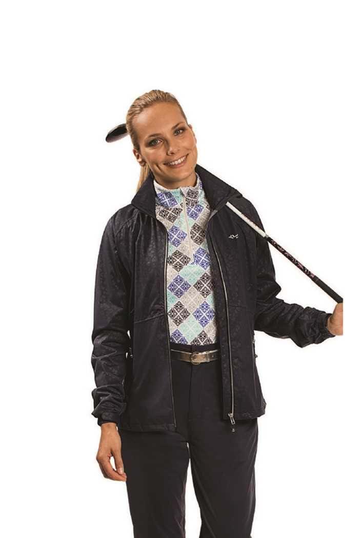 Picture of Rohnisch Elvi Rain Jacket - Clover Shiny Black