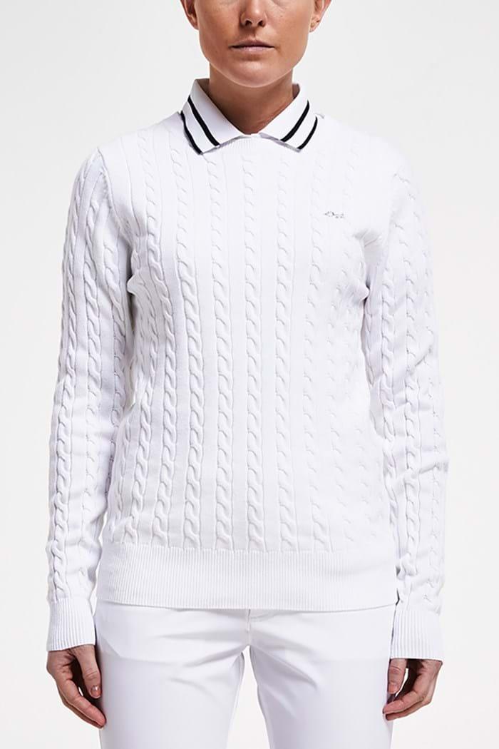 Picture of Rohnisch  zns Hella Pullover - White