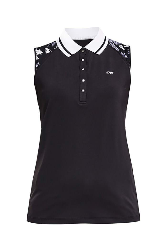 Picture of Rohnisch ZNS Ji Sleeveless Polo Shirt - Black Butterfly