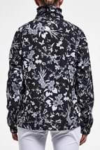 Picture of Rohnisch zns Marta 1/2 Zip Windproof Top - Black Butterfly