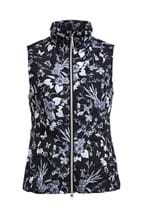 Picture of Rohnisch ZNS Marta Windbreak Vest/Gilet - Black Butterfly