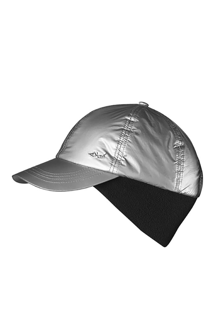 Picture of Rohnisch zns Padded Logo Winter Cap - Silver
