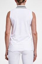 Picture of Rohnisch Pim Sleeveless Polo Shirt - White