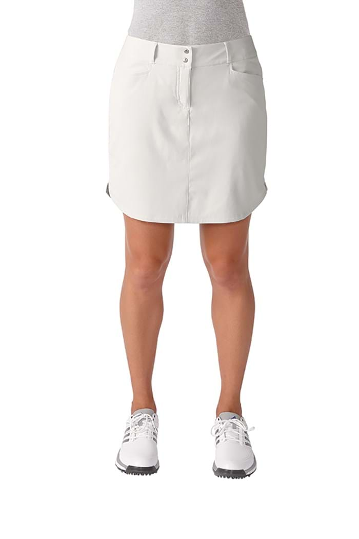 Picture of Adidas 3 Stripes Skort - White