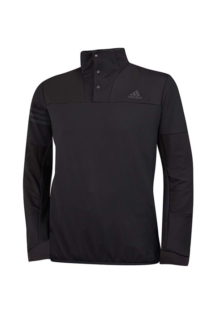 Picture of adidas Climaheat Hybrid 1/2 Zip Shell - Black/Black