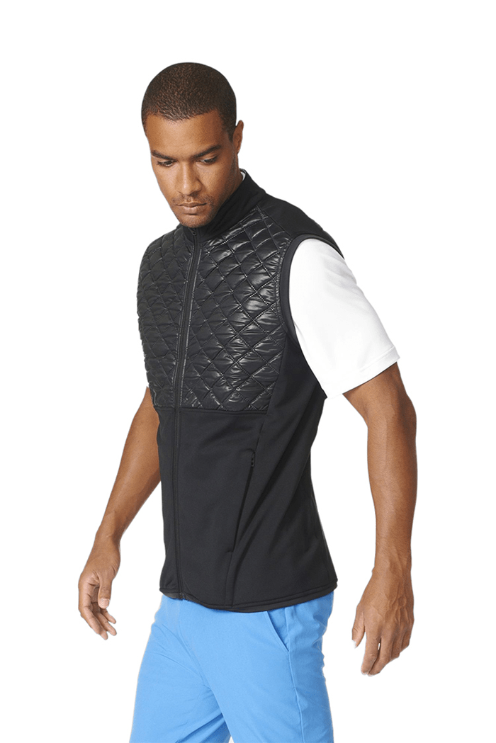 dfa7935c6 adidas Climaheat Prime Fill Quilted Vest / Gilet - Black - adidas ...
