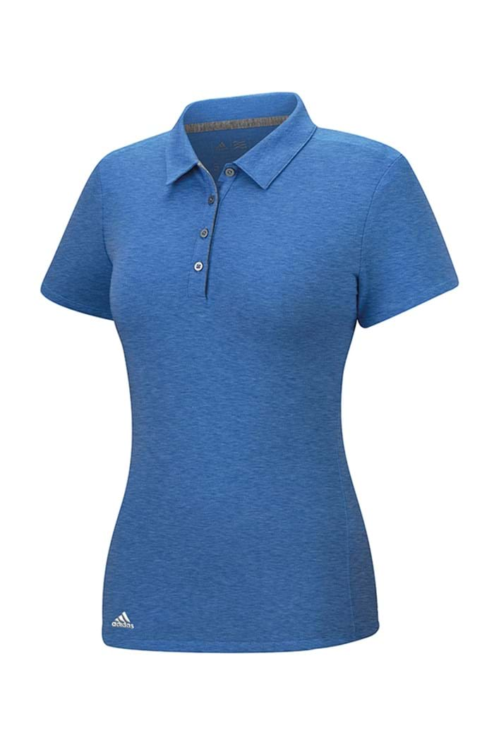 Picture of Adidas zns Climalite Heather Polo Shirt - Bold Blue