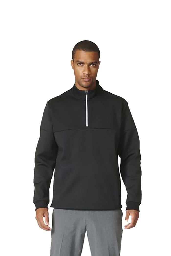 Picture of adidas ZNS Climawarm Debossed 1/4 Zip Sweater - Black