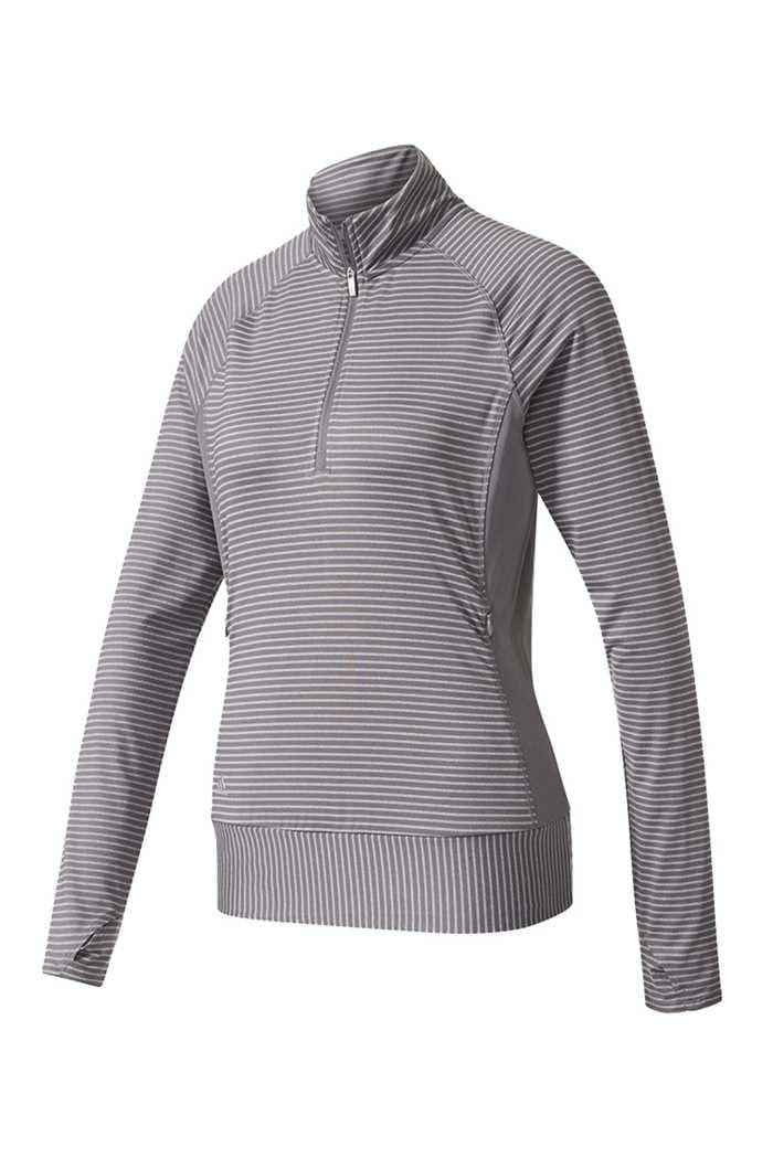 Picture of adidas Ladies Rangewear 1/2 Zip Sweater - Trace Grey