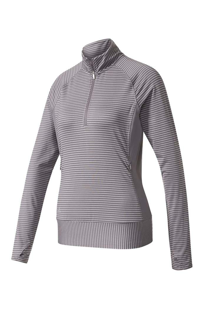 65895c9117b3c9 Picture of adidas Ladies Rangewear 1 2 Zip Sweater - Trace Grey