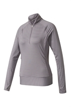Picture of Adidas Ladies Rangewear 1/2 Zip Sweater - Trace Grey