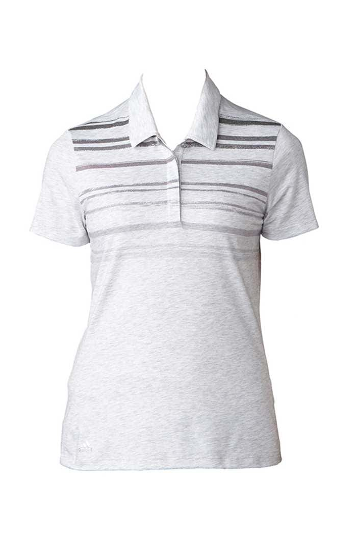 Picture of adidas zns Merch Stripe Polo Shirt - Light Grey